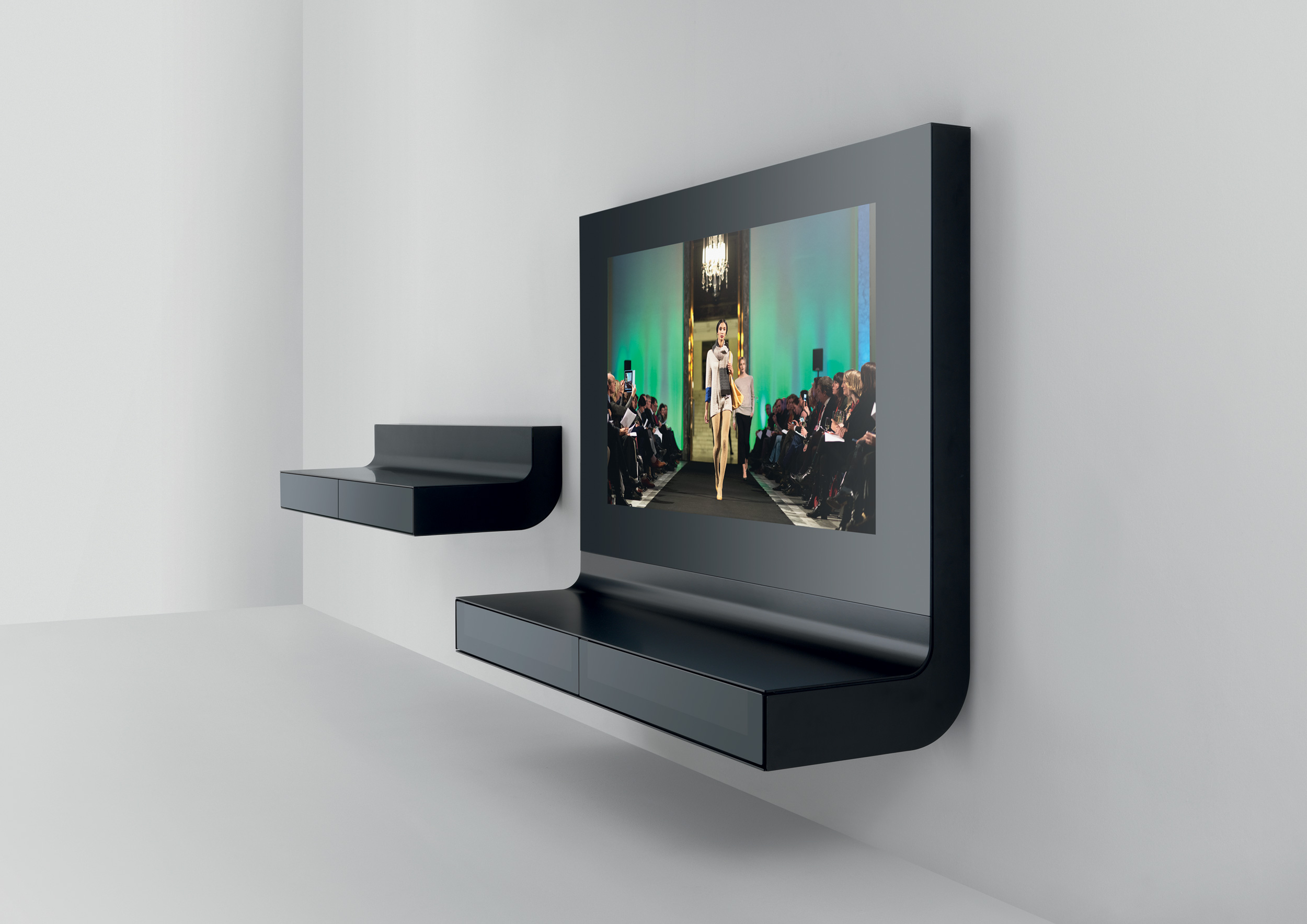 Elle . integrated tv unit